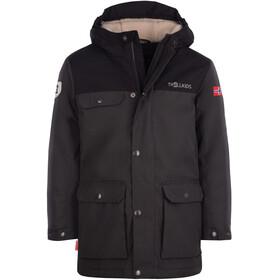 TROLLKIDS Gudvangen Jacket Kids, grijs/zwart